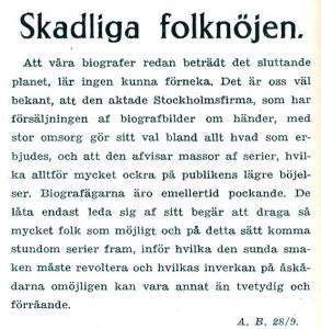 Ur Aftonbladet 1905-09-28